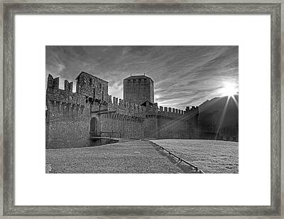 Castle Framed Print by Joana Kruse