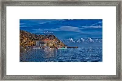 Catalina Island Casino Framed Print