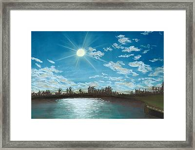 Catch And Release Framed Print by Jackie Novak