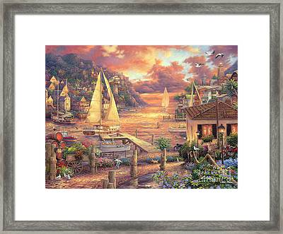 Catching Dreams Framed Print by Chuck Pinson