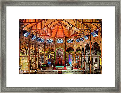 Cathedral-color- St Lucia Framed Print