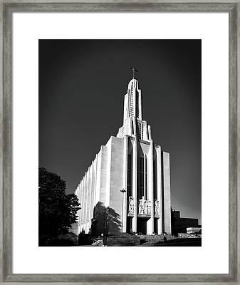 Cathedral Of Saint Joseph Framed Print by Mountain Dreams