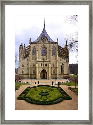 Cathedral Of St. Barbara Framed Print by Two Small Potatoes