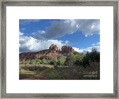 Cathedral Rock Sedona Framed Print