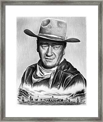 Cattle Drive 2 Framed Print