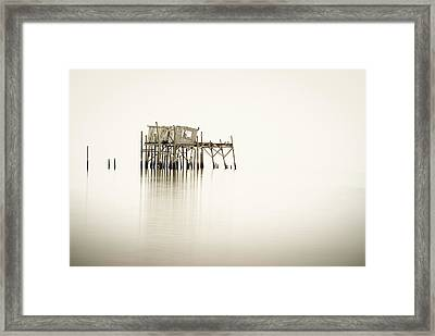 Cedar Key Structure Framed Print