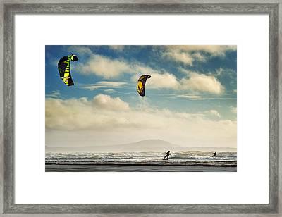 Cefn Sidan Beach 1 Framed Print