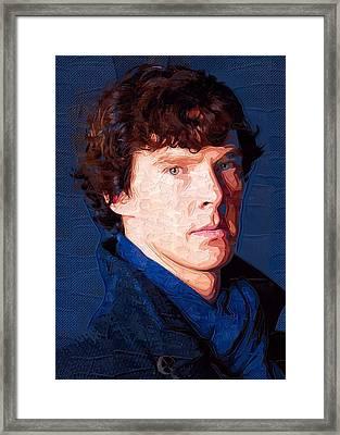 Celebrity Benedict Cumberbatch  Framed Print by Best Actors