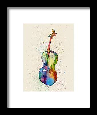 Cello Framed Prints