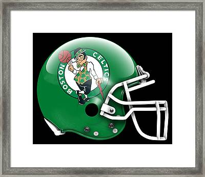 Celtics What If Its Football Framed Print