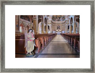 Angel - Saint Mary Of The Angels - Chicago Framed Print by Nikolyn McDonald