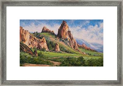 Central Oregon Framed Print