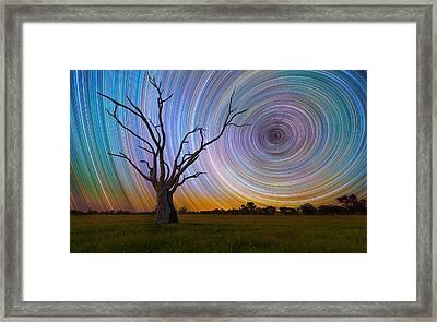 Centrifuge Framed Print by Lincoln Harrison