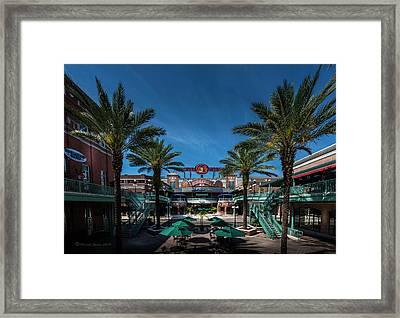 Centro Ybor Framed Print
