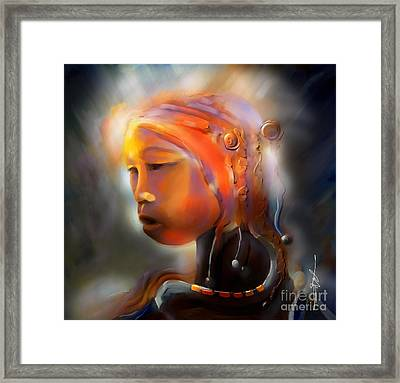 Ceremonial Framed Print by Bob Salo