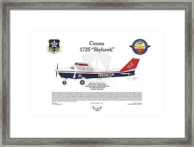 Cessna 172s Skyhawk Framed Print