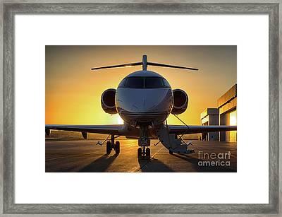 Challenger Sunset Framed Print