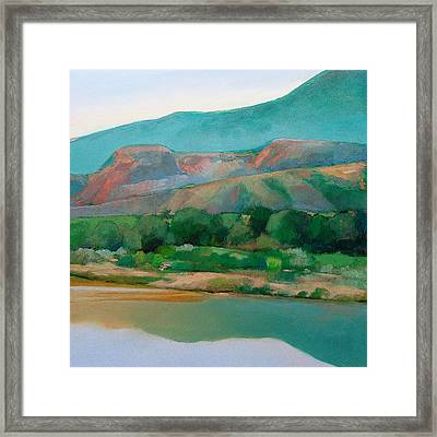 Chama River Framed Print