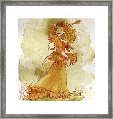 Chamomile Framed Print by Brian Kesinger