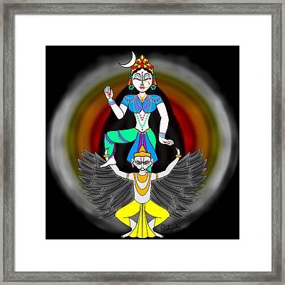 Chandraghanta Framed Print by Pratyasha Nithin