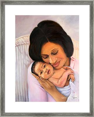 Chanelle And Kaycee Victoria Framed Print by Marlene Book