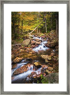 Changes In The Water Framed Print