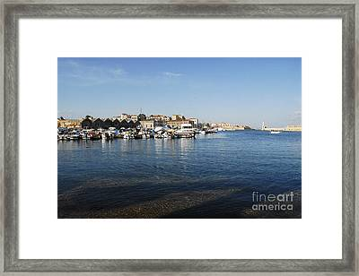 Chania Framed Print