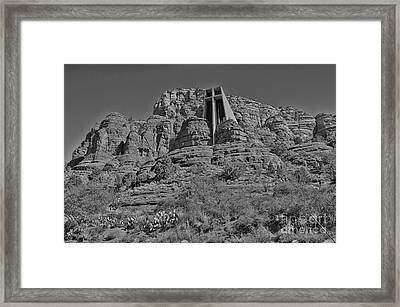 Chapel Of The Holy Cross Framed Print by Brenton Cooper