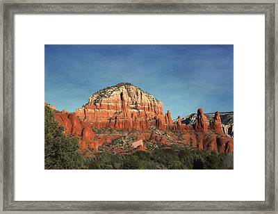 Chapel Of The Holy Cross Framed Print by Donna Kennedy