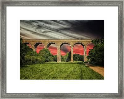 Chapel Viaduct Essex Uk Framed Print