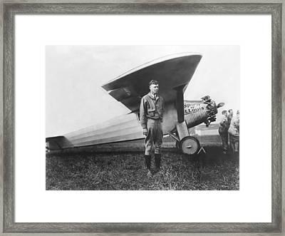 Charles Lindbergh Framed Print