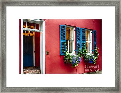 Charleston Charm V Framed Print