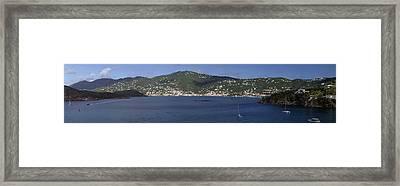 Charlotte Amalie Framed Print by Gary Lobdell