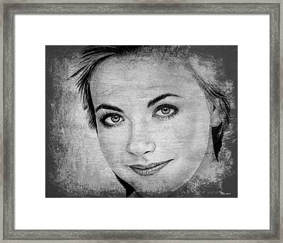 Charlotte Church Framed Print by Andrew Read