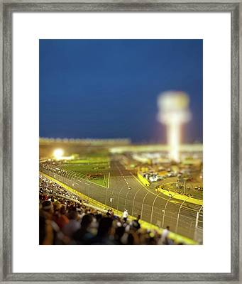 Charlotte Motor Speedway Framed Print by Kenneth Krolikowski