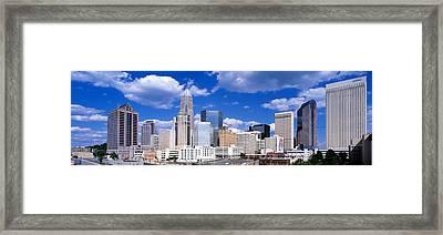 Charlotte, North Carolina, Usa Framed Print by Panoramic Images