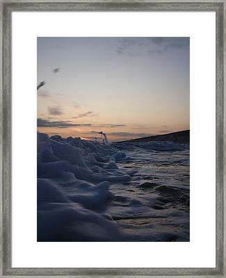 Chasing Dusk Framed Print