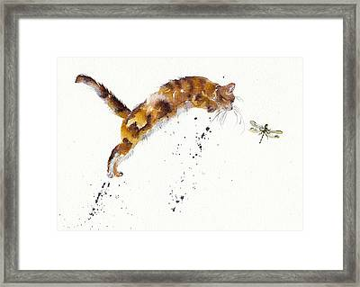 Chasing The Dragon Framed Print