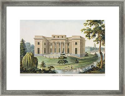 Chateau At Vinderhaute Framed Print