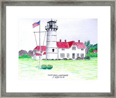 Chatham Lighthouse  Framed Print by Frederic Kohli