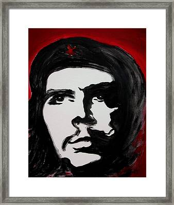 Che Framed Print by Jean Billsdon