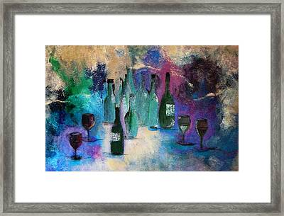 Cheers Framed Print by Lisa Kaiser