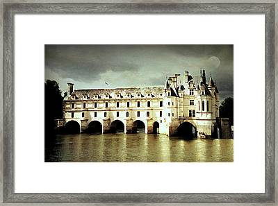 Chenonceau Castle Framed Print