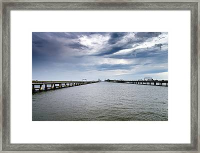 Chesapeake Bay Bridge Maryland Framed Print