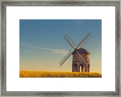 Chesterton Windmill Framed Print by Chris Fletcher