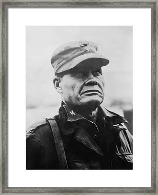 Chesty Puller Framed Print