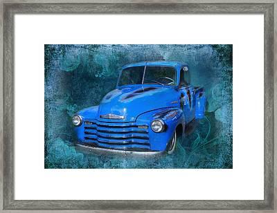 Chev Pickup Framed Print