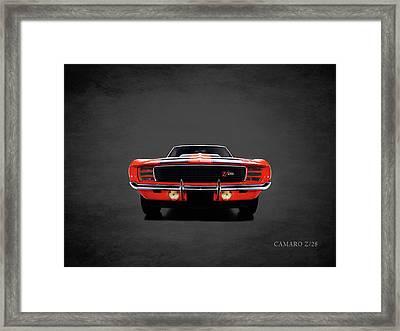 Chevrolet Camaro Z 28 Framed Print by Mark Rogan