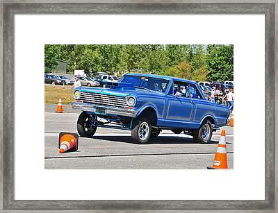 Chevy Nova Ss  Framed Print by Mike Martin