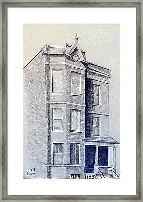 Chicago Apartment  Framed Print by Stan Hamilton